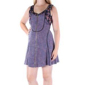 Rachel Roy Boho Front Zip Dress